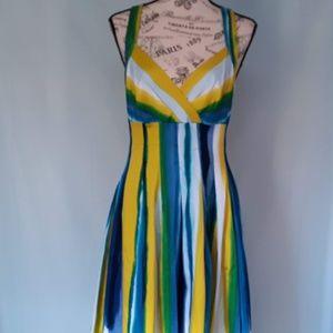 CALVIN KLEIN WATERCOLOR DRESS